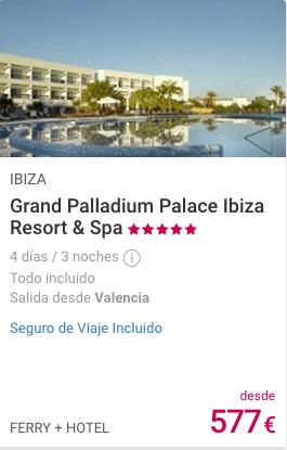 Grand Palladium Palace Ibiza 5*