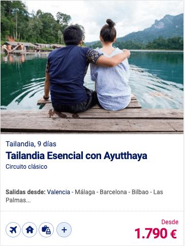 Tailandia Esencial con Ayutthaya
