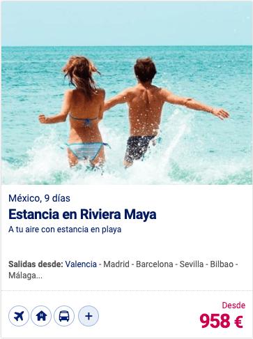 Estancia en Riviera Maya