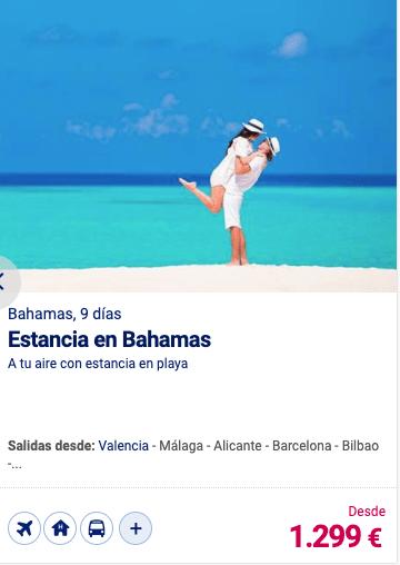 Estancia en Bahamas