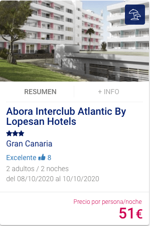 Abora Interclub Atlantic by Lopesan Hotels 3*