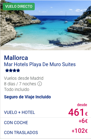 Mar Hotel Playa De Muro Suites