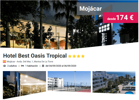 Hotel Best Oasis Tropical 4*