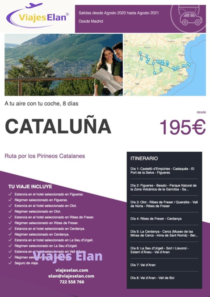 Ruta Pirineos Catalanes