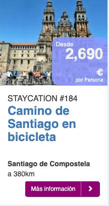 Camino de Santigo en bicicleta