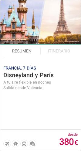 Disneyland y Paris