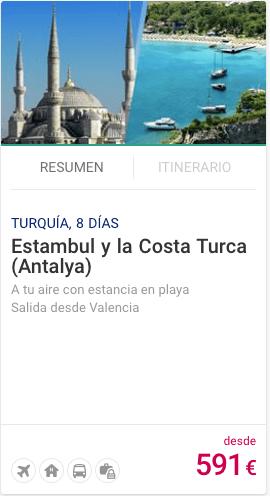 Estambul y la Costa Turca