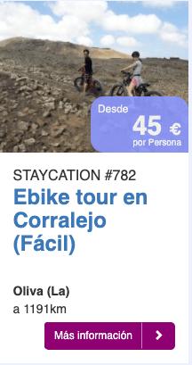 Ebike tour en Corralejo