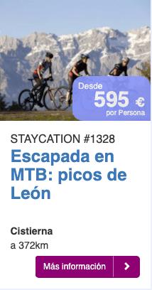 Escapada en MTB picos de León
