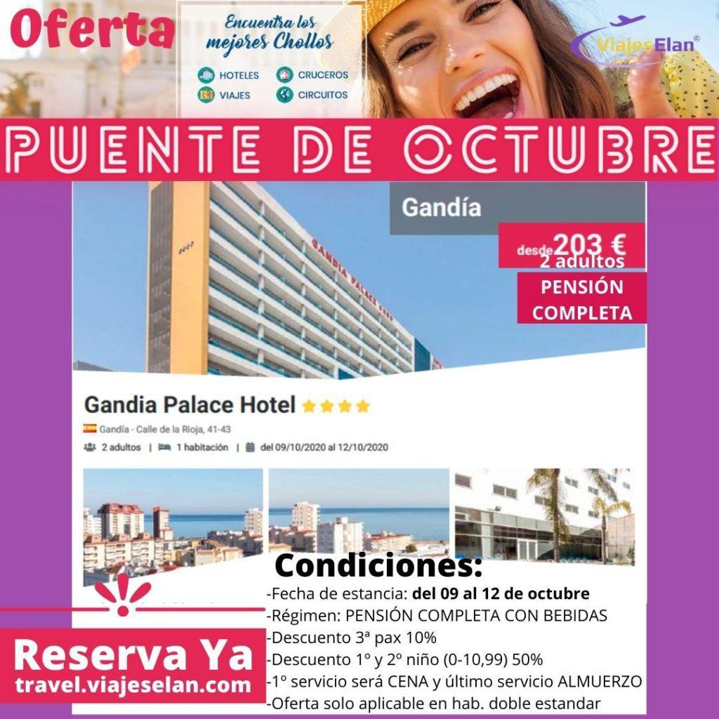 GANDÍA PALACE HOTEL 4*