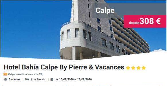 Hotel Bahía Calpe By & Vacances 3*