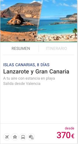 LANZAROTE Y GRAN CANARIA