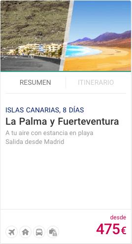 La Palma y Fuerteventura
