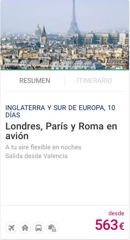 Londres, Paris y Roma