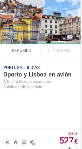 Oporto y Lisboa