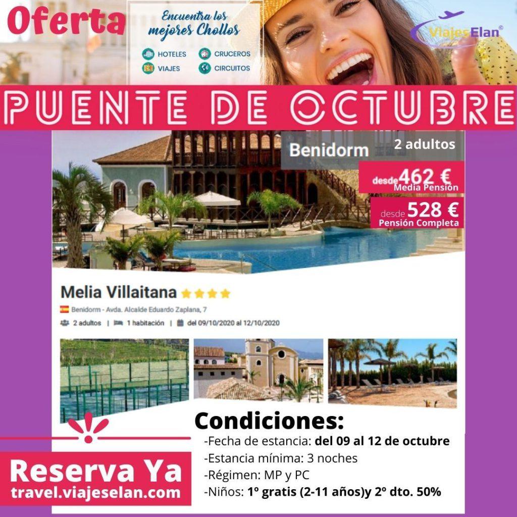 Oferta hotel Villaitana