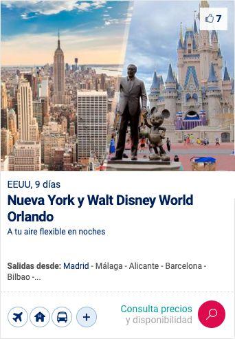 Paquetes Disney World Orlando