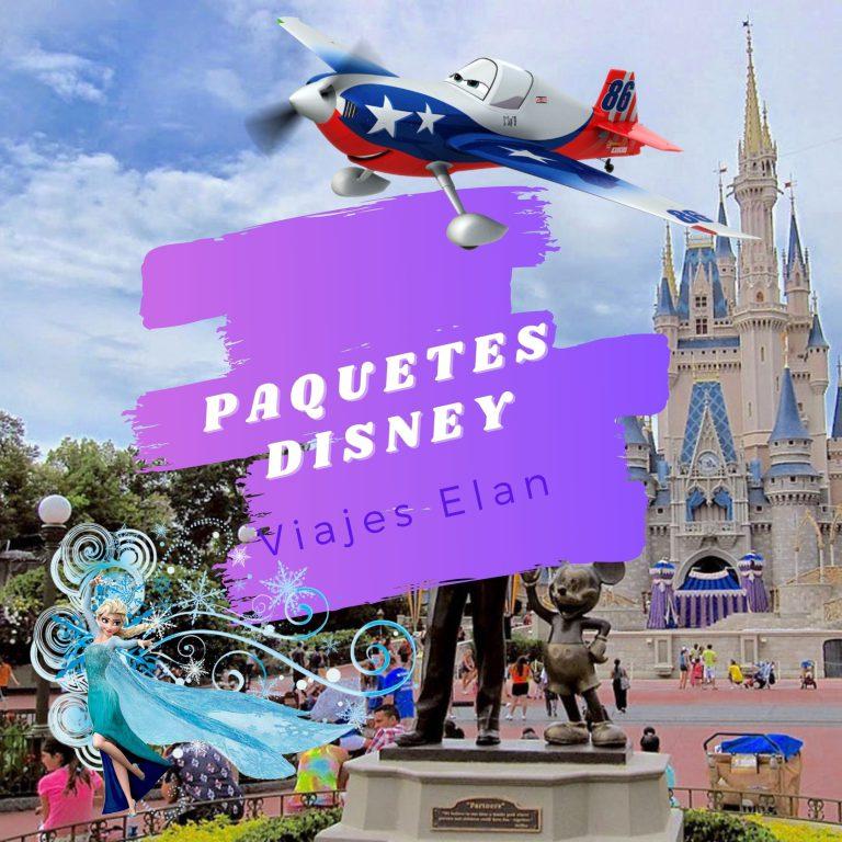Paquetes Disney