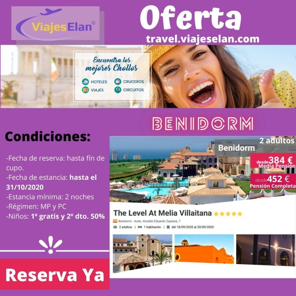 Oferta The Level At Melia Villaitana 5*