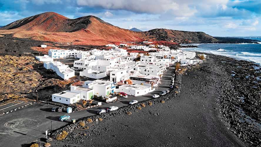 El Golfo ruta por Lanzarote