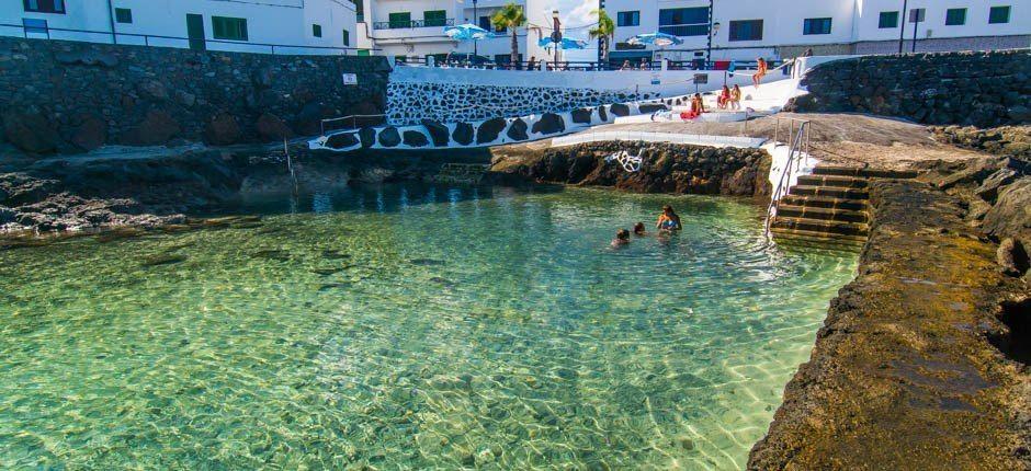 Piscinas naturales Punta Mujer ruta por Lanzarote